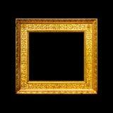 Beira ornamentado antiga velha do quadro Imagens de Stock Royalty Free