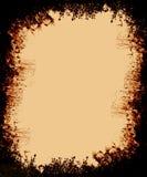 Beira oxidada do grunge do estilo do vintage ilustração do vetor