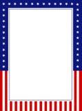 Beira patriótica ilustração do vetor