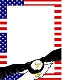 Beira patriótica Fotografia de Stock Royalty Free