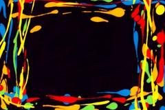 Beira pintada colorida fotos de stock royalty free