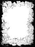 Beira preta do frame Imagens de Stock