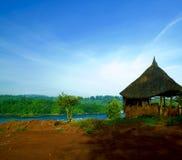Beira-rio da cabana Imagem de Stock