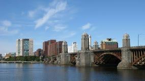 Beira-rio de Boston Fotos de Stock