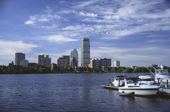 Beira-rio de Boston Imagens de Stock