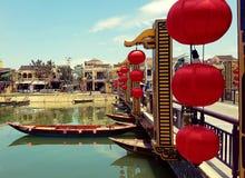 Beira-rio de Hoi An em Vietname fotografia de stock