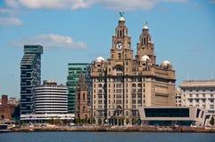 Beira-rio de Liverpool Imagem de Stock Royalty Free