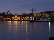 Beira-rio de Oslo, Noruega Foto de Stock Royalty Free