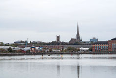 Beira-rio de Preston Imagens de Stock