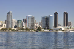 Beira-rio de San Diego Foto de Stock