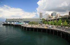 Beira-rio de Seattle Imagens de Stock Royalty Free