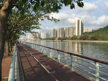 Beira-rio de Shatin Fotografia de Stock Royalty Free