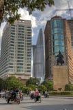 Beira-rio do renascimento e torre de Melinh Imagens de Stock Royalty Free