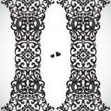 Beira sem emenda do vetor no estilo vitoriano. Foto de Stock Royalty Free