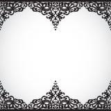 Beira sem emenda do vetor no estilo vitoriano. Imagens de Stock