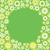 Beira sem emenda verde Foto de Stock