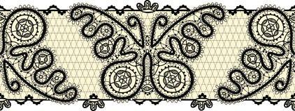 Beira simless do laço do vintage ilustração do vetor