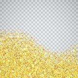 Beira textured brilho do ouro Imagem de Stock Royalty Free