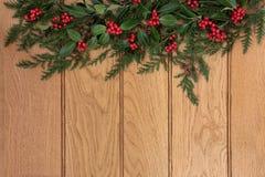 Beira tradicional do Natal imagem de stock royalty free