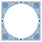 Beira vazia do Arabesque Imagens de Stock Royalty Free
