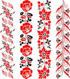 Beira vermelha Imagem de Stock Royalty Free