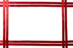 Beira vermelha da fita imagem de stock royalty free