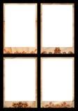 Beiras da foto de Grunge ilustração do vetor