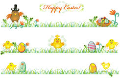 Beiras da mola de Easter Imagem de Stock