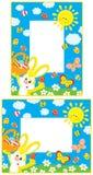 Beiras de Easter ilustração royalty free