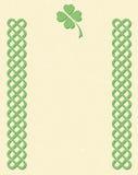Beiras de estilo celta do nó Imagens de Stock