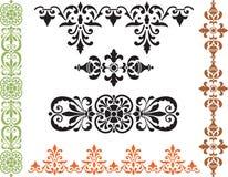Beiras decorativas Imagem de Stock Royalty Free