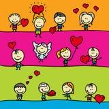 Beiras do amor Imagens de Stock