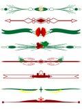 Beiras do Natal Imagens de Stock Royalty Free