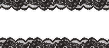 Beiras pretas do laço Fotografia de Stock Royalty Free