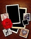 Beiras românticas do grunge Foto de Stock