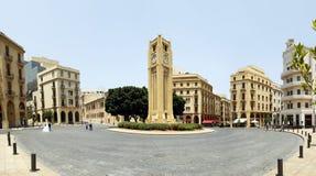 Beiroet de stad in Stock Afbeelding
