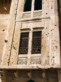 Beiroet - oorlogsruïnes Stock Foto