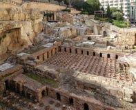 Beiroet, Roman Baths royalty-vrije stock afbeelding