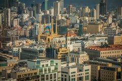 Beiroet van de binnenstad Royalty-vrije Stock Fotografie