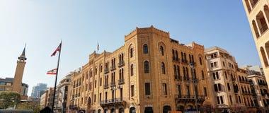 Beiroet van de binnenstad Stock Fotografie