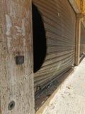 Beirut Blast | Shop Door Damaged after the massive explosion