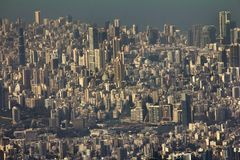Beirut cityscape urban view royalty free stock image