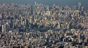 Beirut cityscape urban view stock photos
