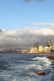 Beirut Coastline, Lebanon Royalty Free Stock Photo