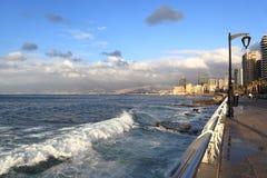 Beirut Corniche, Lebanon Royalty Free Stock Photos