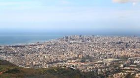 Beirut en el mediterráneo, Líbano Imágenes de archivo libres de regalías