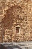 Beirut forntida vägg i modern stad Fotografering för Bildbyråer