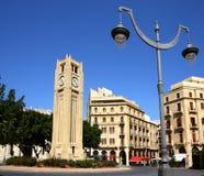 beirut i stadens centrum lebanon Royaltyfri Bild