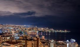 Beirut and Jounieh Skyline Royalty Free Stock Photos