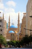 Beirut, Lebanon. Grand Mosque in Beirut, Lebanon Stock Photo